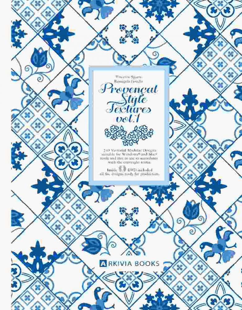 ARKIVIA BOOKS Provencal Style Textures Vol.1