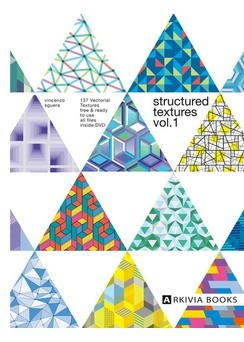 ARKIVIA+BOOKS+Structured+Textures+Vol.1+incl.+dvd