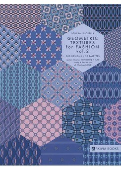 ARKIVIA+BOOKS+Geometric+Textures+for+Fashion+Vol.2+incl.DVD