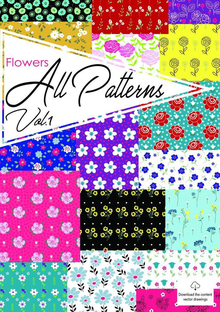 Flowers+AllPatterns+Vol.1